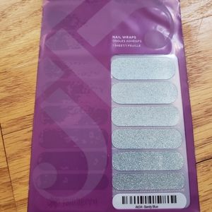 Barely Blue Jamberry nail wraps